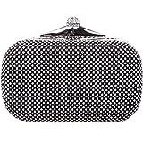 Fawziya® Bling Box Clutch With Chain Rhinestone Clutch Evening Bag
