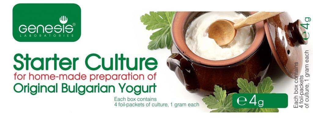Bulgarian Starter Culture for Traditional Yogurt - natural - up to 20 liters Genesis Laboratories
