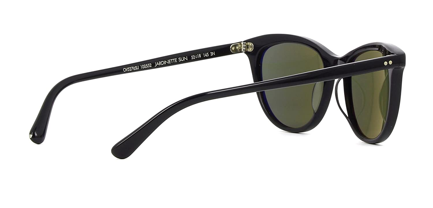 d9917e7196 OLIVER PEOPLES JARDINETTE 5276SU - 100552 SUNGLASSES BLACK   G15 52MM at  Amazon Women s Clothing store