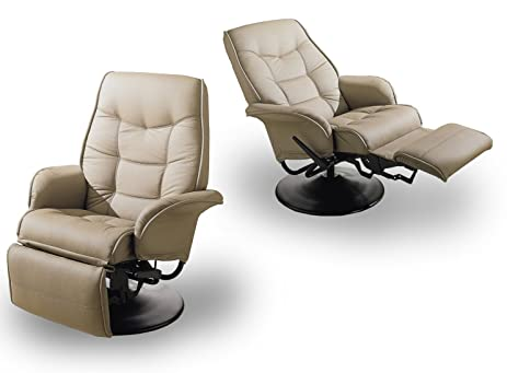 MAN CAVE Two Tan Leatherette Modern Recliners  sc 1 st  Amazon.com & Amazon.com: MAN CAVE Two Tan Leatherette Modern Recliners: Kitchen ... islam-shia.org