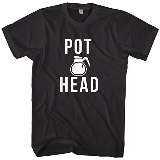 a2b6c7b7d8e Amazon.com  Mixtbrand Men s Pot Head Coffee T-Shirt  Clothing
