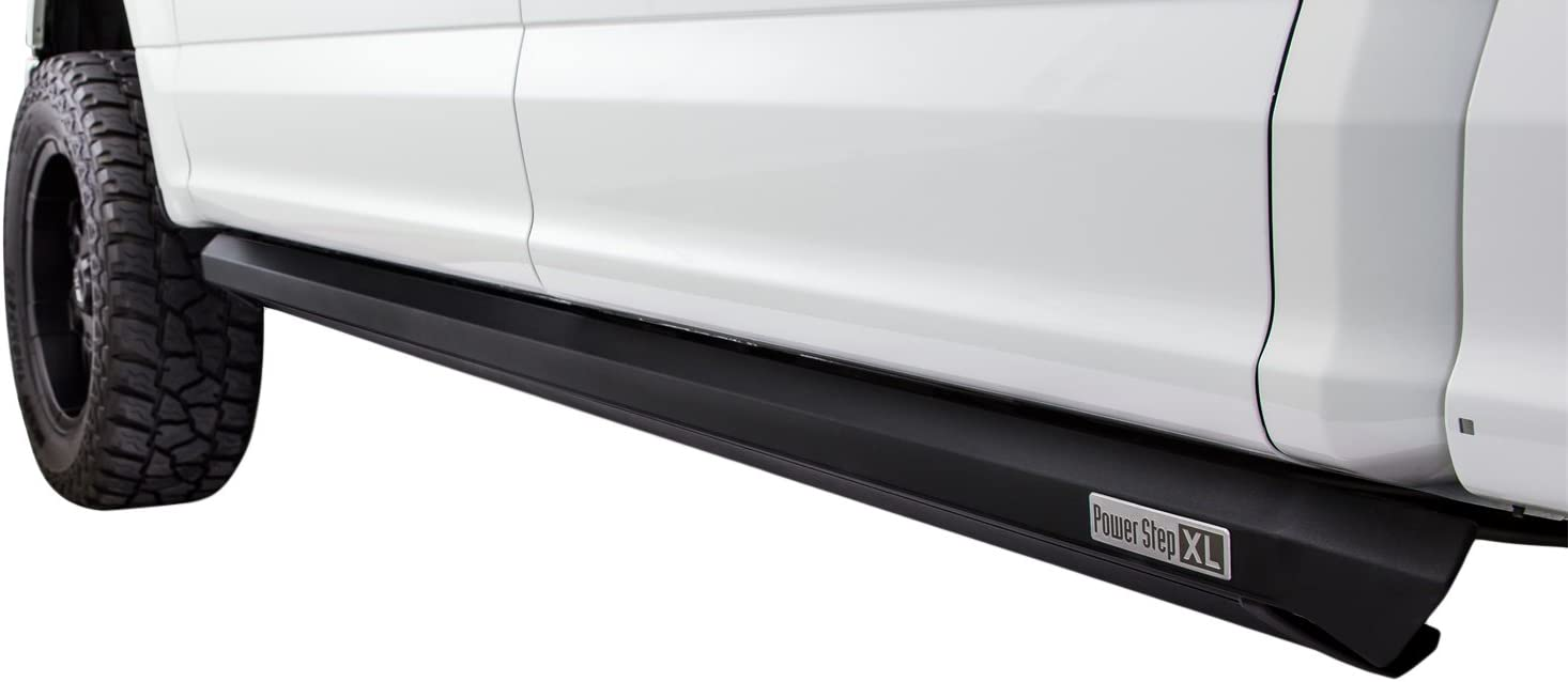 PowerStep Plug N Play System for Ford Super Duty AMP Research 76235-01A Black Running Board