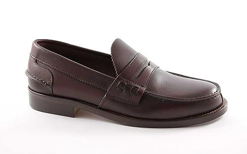 6080ba43f58e Lion 1737 Bord Schuhe Männer Loafers College Original Crichet Linie von  Schottland 49