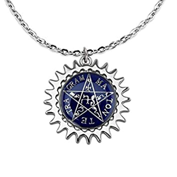 Amazon aluckyday new anime black butler ciel eye blue star aluckyday new anime black butler ciel eye blue star rotating necklace cosplay pendant ad007 aloadofball Gallery