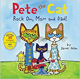 Afbeeldingsresultaat voor pete the cat rock on mom and dad