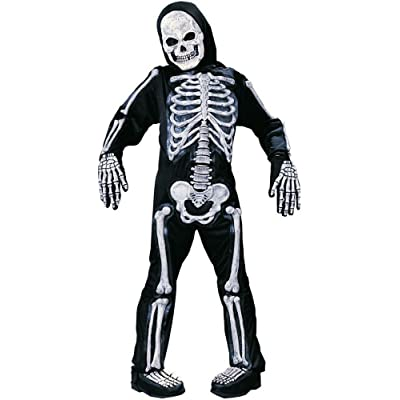 Fun World - Boy's Skelebones Costume: Toys & Games