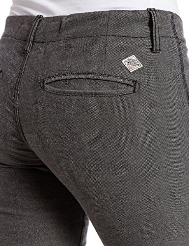 Mujer Gris Pants Pantalones Timezone Elintz Para Fashion xwg7fpR