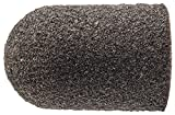 PFERD 46075 Policap Abrasive Cap, Shape C, Aluminum Oxide A, 5/8'' Diameter x 1'' Length, 150 Grit (Pack of 50)