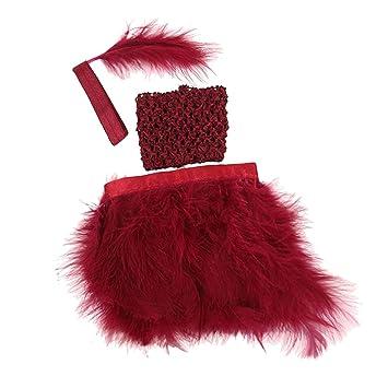 Amazon.es: Homyl 3pcs Mini Vestido de Disfraces Crop Top Falda ...