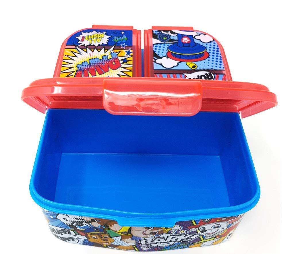 Theonoi Kinder Brotdose // Lunchbox // Sandwichbox w/ählbar: Avengers Paw aus Kunststoff BPA frei Avengers Mickey tolles Geschenk f/ür Kinder