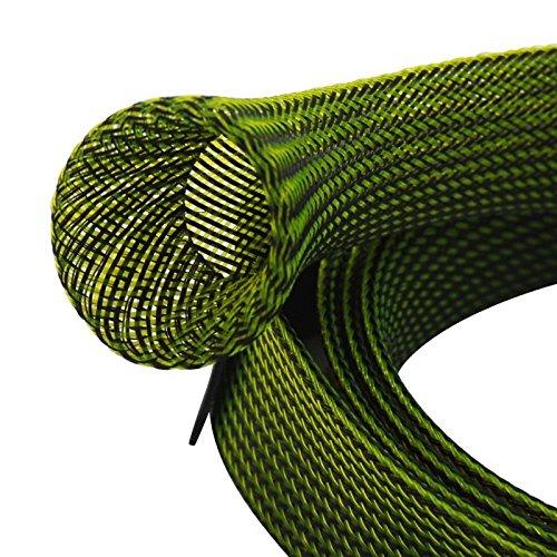 green 1 Intrecciato Black 7 Canna Da Guanti Green Isafish Espandibile Spinning Covers nbsp;m Schermo Manicotto Pesca Rod Verde Nero Calzino Casting Bundle RxAwqw