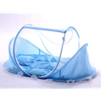 Sinotop bébé Mosquito DED Portable pour Voyager, lit bébé pliable Lit Bébé Moustiquaire Portable Lits de bébé pour 0–18mois bébé (Rose)