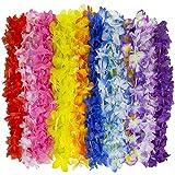 : Kangaroo Jumbo Party Bag ~ Tropical Hawaiian Luau Lei Styles (50 ct) ~ Party Favors