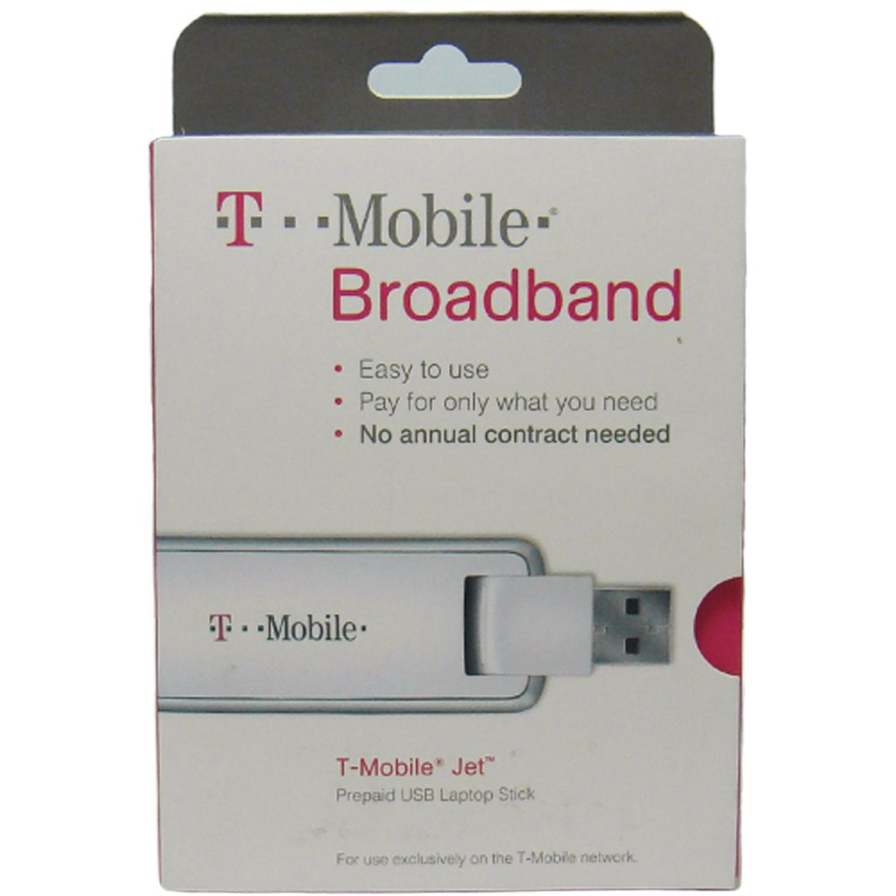 T-Mobile webConnect Jet Prepaid 3G USB Laptop Broadband Stick (HUAWEI UMG1691)