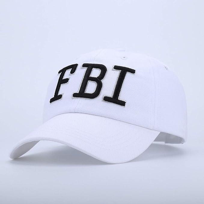 f8fd65ccf Hot Cool Army Bones Hat Unisex FBI Letters Tactical Baseball Cap ...
