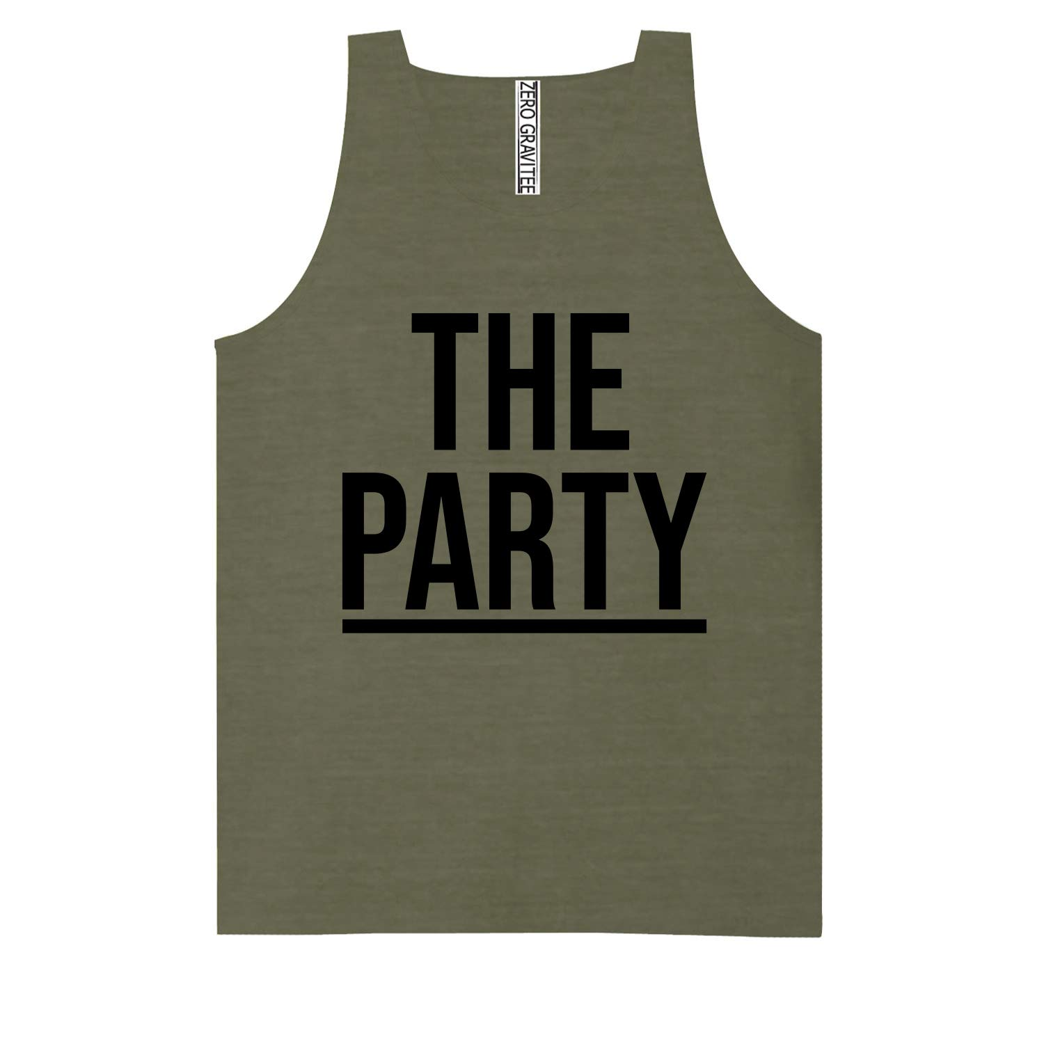 The Party Adult Pigment Dye Tank Top