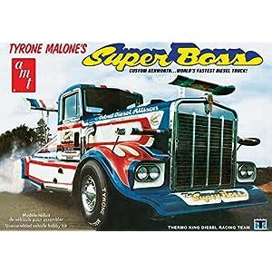 AMT AMT930 1:25 Sclae Tyrone Malone's - Kenworth Super Boss Drag Truck 3
