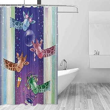 Children S Bathroom Shower Curtains.Amazon Com Emodfjcxz Children S Bathroom Shower Curtain