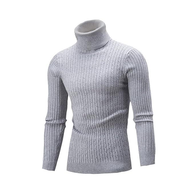 Mens de Invierno Suéteres y Jerseys de Moda Suéter de Los Hombres ...