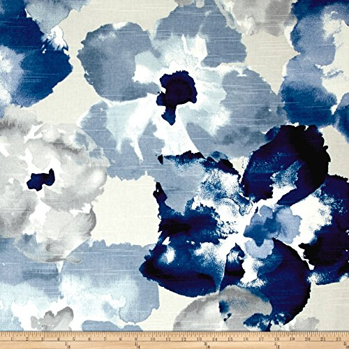 Robert Allen Home Aptura Floral Indigo Fabric By The - Fabric Decor Upholstery