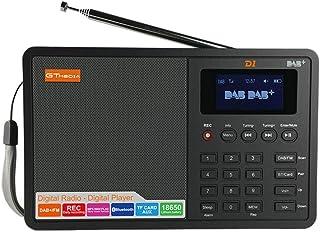 Ben-gi GT Media D1 Digital Radio 1,8 Pollici LCD Display Dab + / FM RDS gamme d'onda AUX TF Ingresso Radio Player