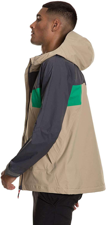 Berghaus Herren Sky Hiker Gore-tex Jacket Cornstalk/Grey Pinstrpe/Bright Green