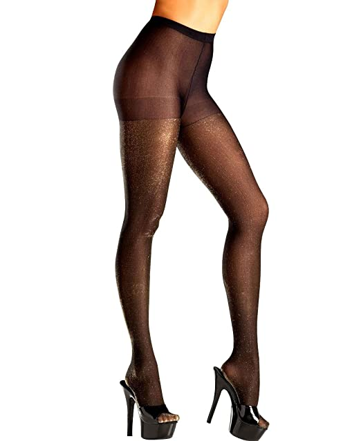 Gold shimmer pantyhose consider, that