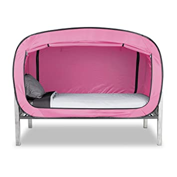 Privacy Pop Bed Tent (Twin XL) - PINK  sc 1 st  Amazon.com & Amazon.com: Privacy Pop Bed Tent (Twin XL) - PINK: Kitchen u0026 Dining