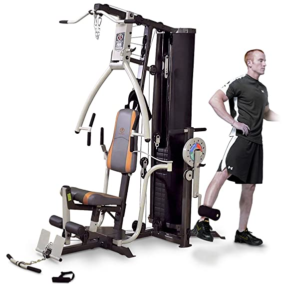 Marcy MP3500 Platinum equipo para ejercitarse en casa, multigimnasio con entrenador de muslo: Amazon.es: Deportes y aire libre