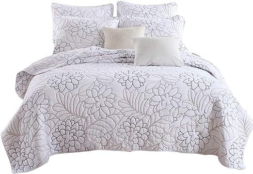 Unimall Colcha Bouti cama 135 0 140, 1*Colcha de 230*250 cm y 2 ...
