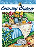 capa de Creative Haven Country Charm Coloring Book