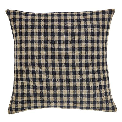 (VHC Brands Classic Country Primitive Pillows & Throws - Check Fabric 16