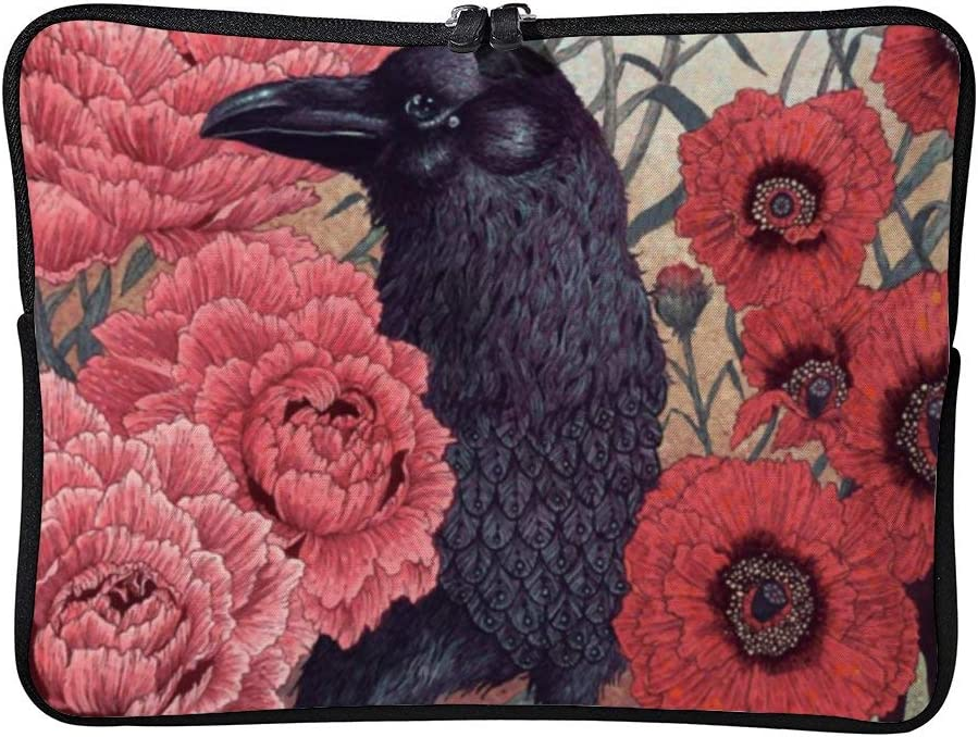 Crow Effigy Nice 13inch Neoprene Laptop Sleeve Case Protective Computer Cover Portable Carrying Bag Pouch for Notebook
