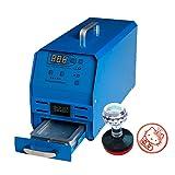 BMGIAN 110V Photosensitive Seal Machine Self Inking Computer Flash Stamp Machine Stamp Seal Maker