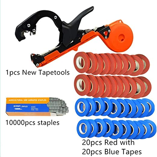 Binding Garden Tying Stapler Machine Stem Plant Vine Branch Tape Hand Tool new
