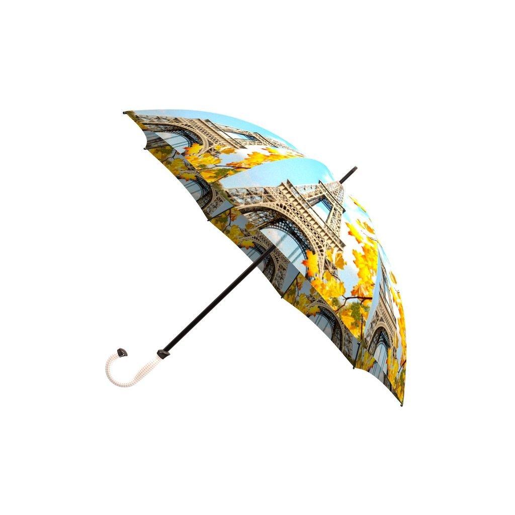 LA BELLA UMBRELLA Paris Designer Unique Art Travel Fashion Umbrella in Stylish Gift Box Windproof Folding Automatic Open Close AUT-023