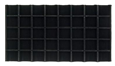 Amazoncom Velvet Insert 5x8 Black Tray Inserts Jewelry Display