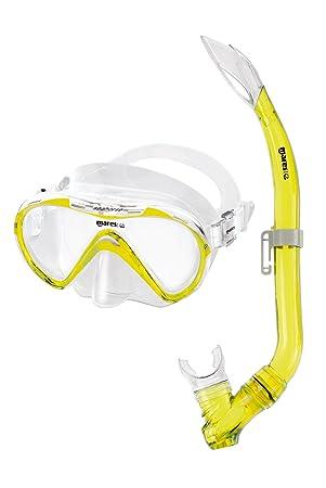 Mares Seahorse de buceo para niños amarillo
