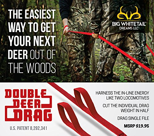DOUBLE DEER DRAG - THE EASIEST WAY TO GET YOUR NEXT DEER OUT OF THE WOODS ! FINALLY A DEER DRAG THAT REALLY WORKS!!