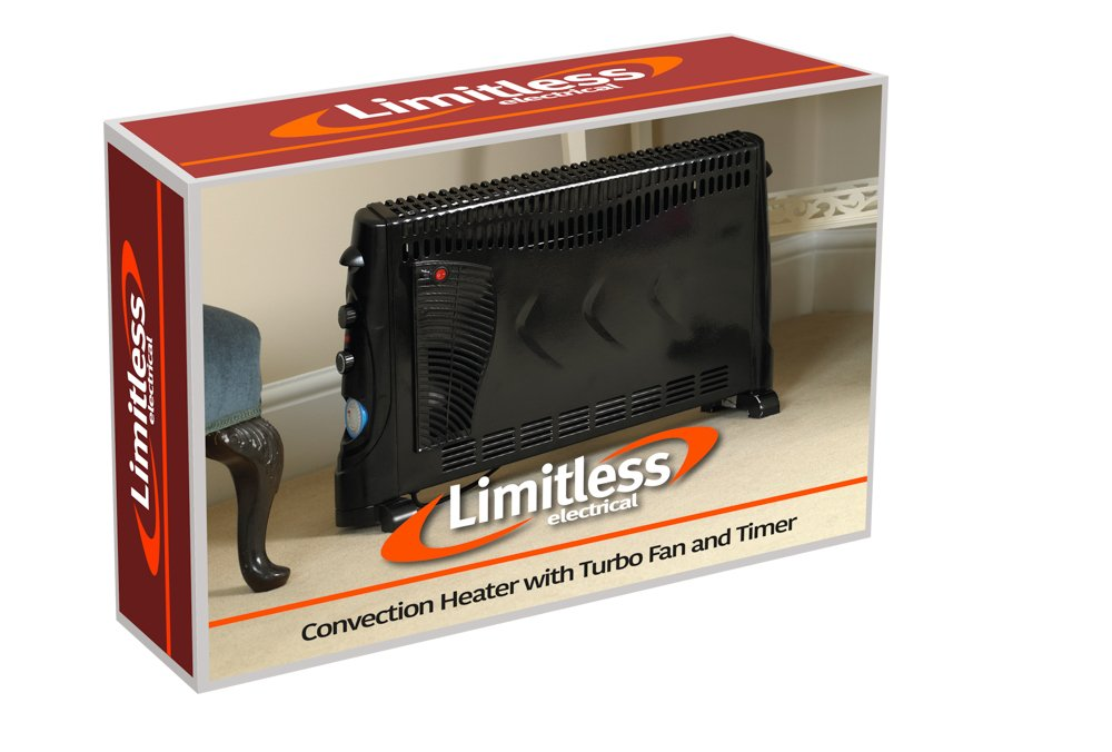 2000W Convection Heater with Timer