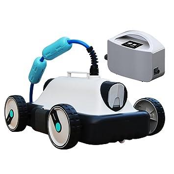 robot nettoyeur electrique de piscine fond plat - Robot Aspirateur Piscine Electrique