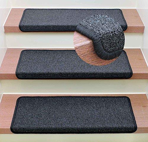 Stufenmatte Treppenmatte Monza Rechteckig - 6 aktuelle Farben ! (Anthrazit)