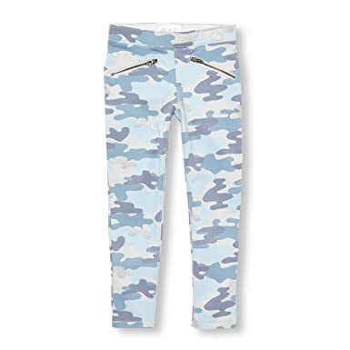 9f2ec8c9d07ce The Children's Place Big Girls' Glitter CAMO Jegging, Atmosphere, ...