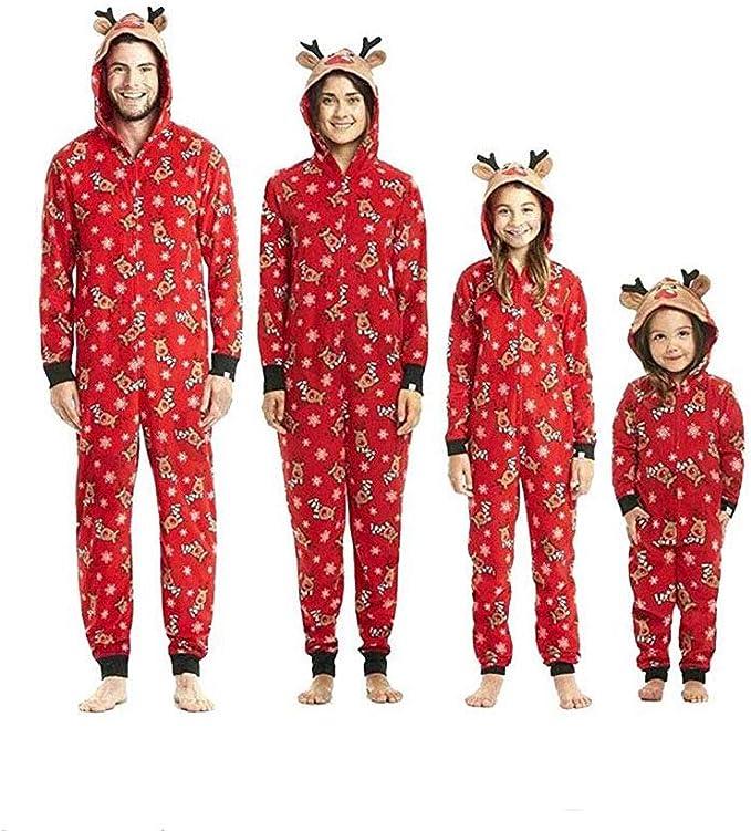 Pijamas una Pieza Familiares de Navidad, Conjuntos Navideños de ...