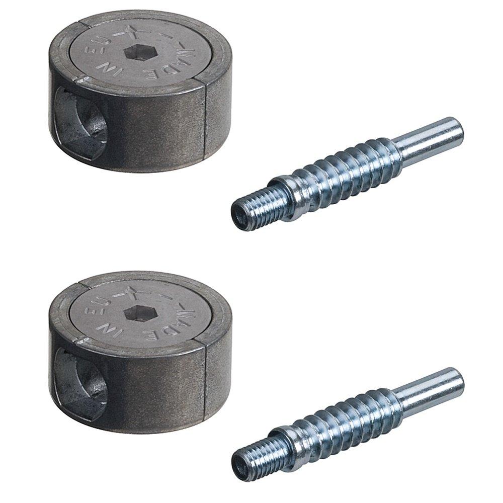 60 Minifix M6 Exzenter Bolzen Möbelverbinder Schrankverbinder Korpusverbinder
