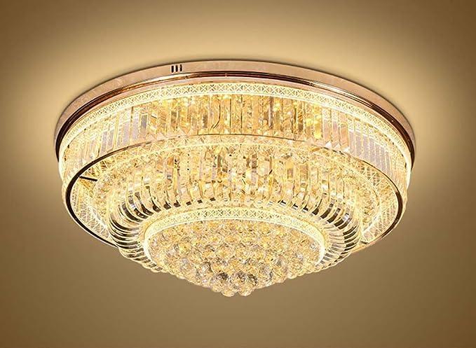 Plafoniere Cristallo E Acciaio : Yueyang illuminazione domestica soggiorno led luminosità k