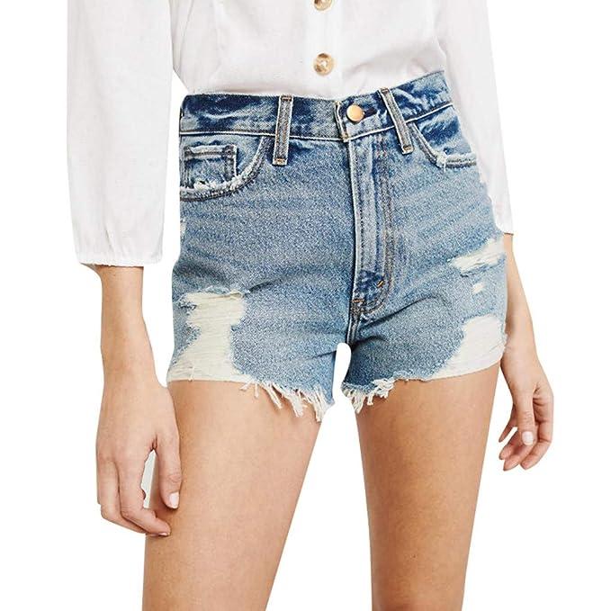 Pantalones Cortos De Dril De AlgodóN para Mujer Pantalones ...