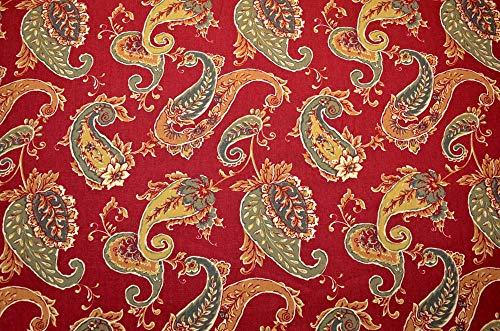 REMNANT Beacon Hill Brick Fabric 54 inches x 4.5 Yards