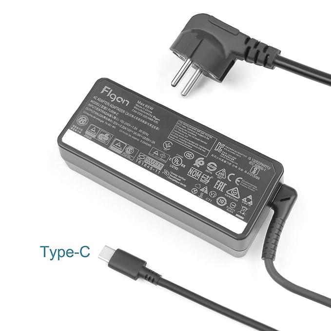 FLGAN 65W 45W USB-C Cargador para Lenovo ideapad S940 Yoga ...