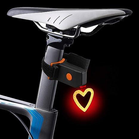 Marico Nahum - Luz trasera para bicicleta recargable por USB, luz ...